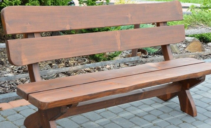 Meble Ogrodowe Drewniane Bolero 180 Cm Hit Tavoli Sedie
