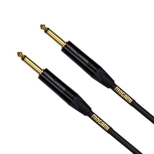 Mogami Gold Instrument 25 Guitar Instrument Cable Straight Ends 25 Feet By Mogami 49 95 Straight End To Straight End 1 4 Connectors Mogami Electronic Cables