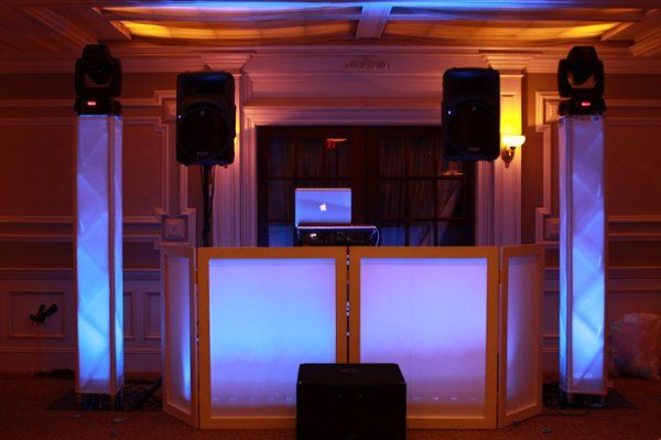 Wedding Djs Booth Setup At Park Hotel In Athens
