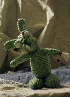 CrochetBot 3000: Zombie Rabbit Free crochet pattern