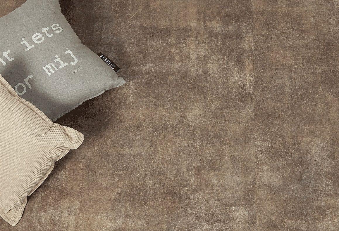 Vloer met betonlook met de voordelen van pvc pvc tegels balance