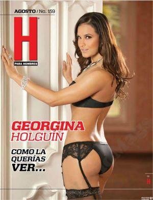 Video Georgina Holguín Desnuda En La Revista H Dimcrus Bikinis