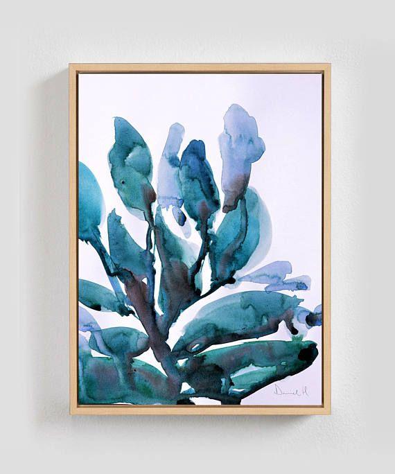 Printable Abstract Art Botanical Wall Art Tropical Poster