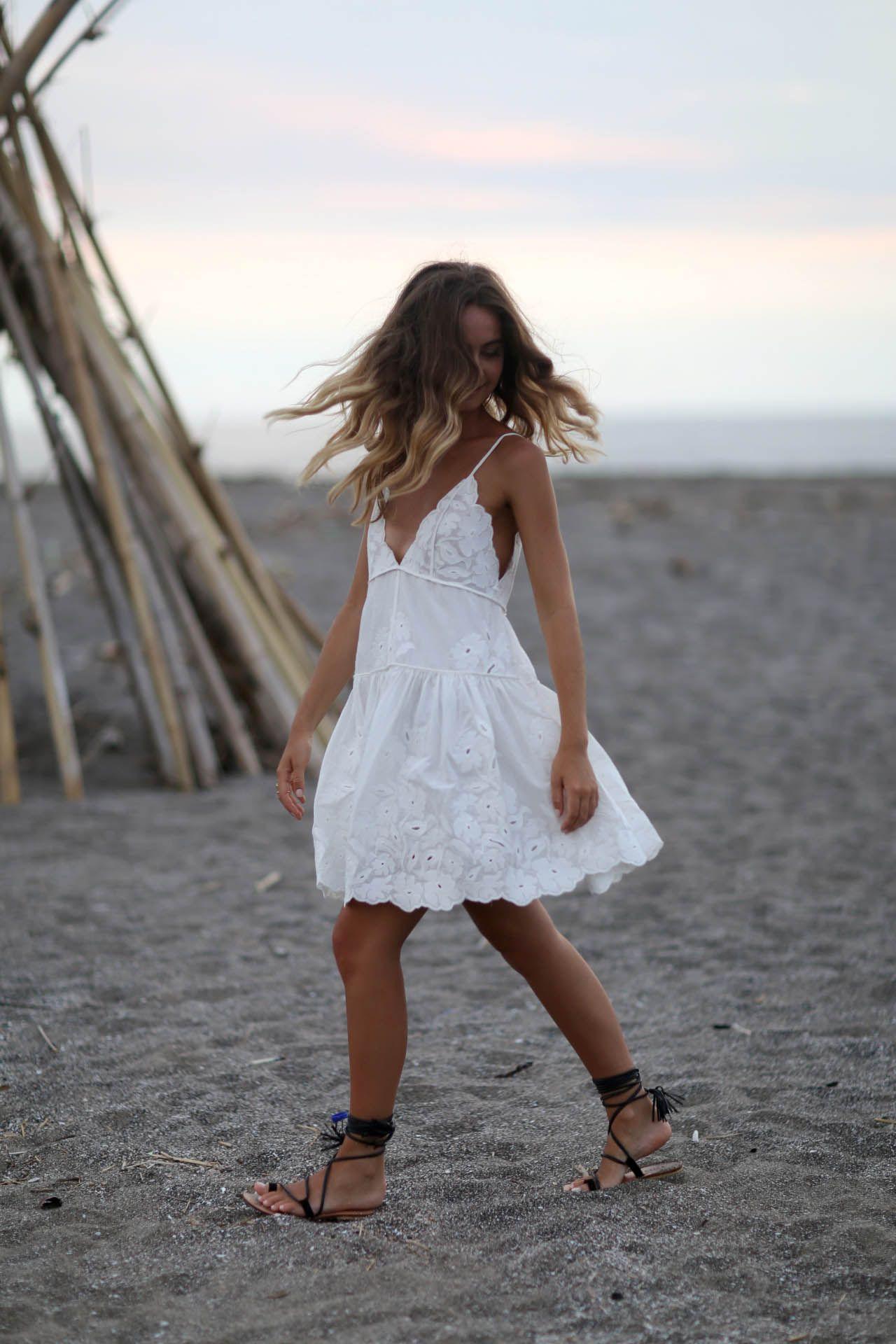 Bohemian Furniture White Lace Summer Dress Lace White Dress Summer Dresses [ 1920 x 1280 Pixel ]