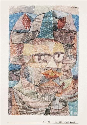 The last of the mercenaries - Paul Klee (1931)