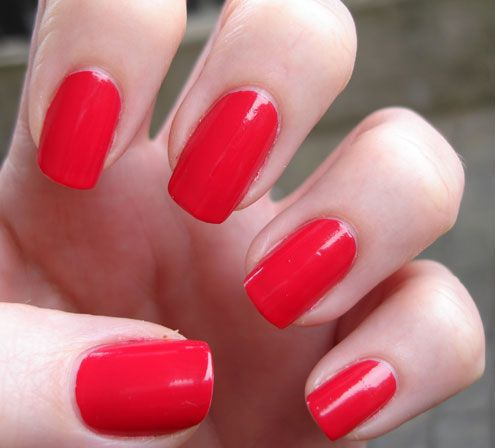 Opi Red Hot Ayers Rock Nails My New Favorite Color