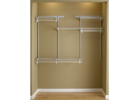 Beautiful ShelfTrack 4 Ft. To 6 Ft. Closet Organizer Kit