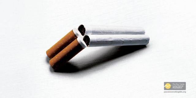 The Roy Castle Lung Cancer Foundation. Passive Smoking Kills. Ads
