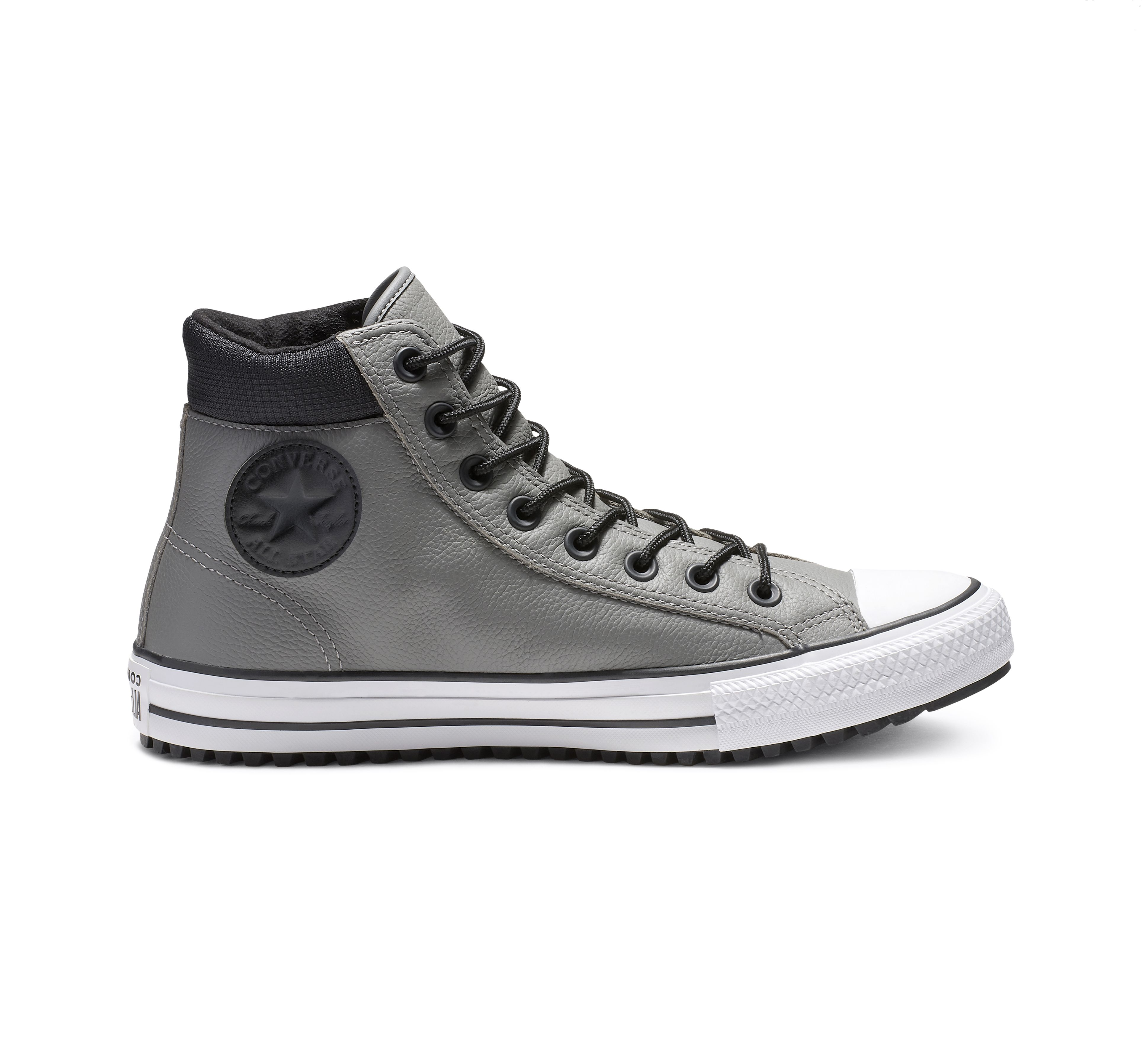 Chuck Taylor Padded Collar Leather High Top in 2020 | Chuck