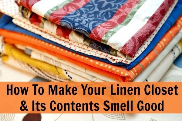 Make Your Linen Closet Smell Good