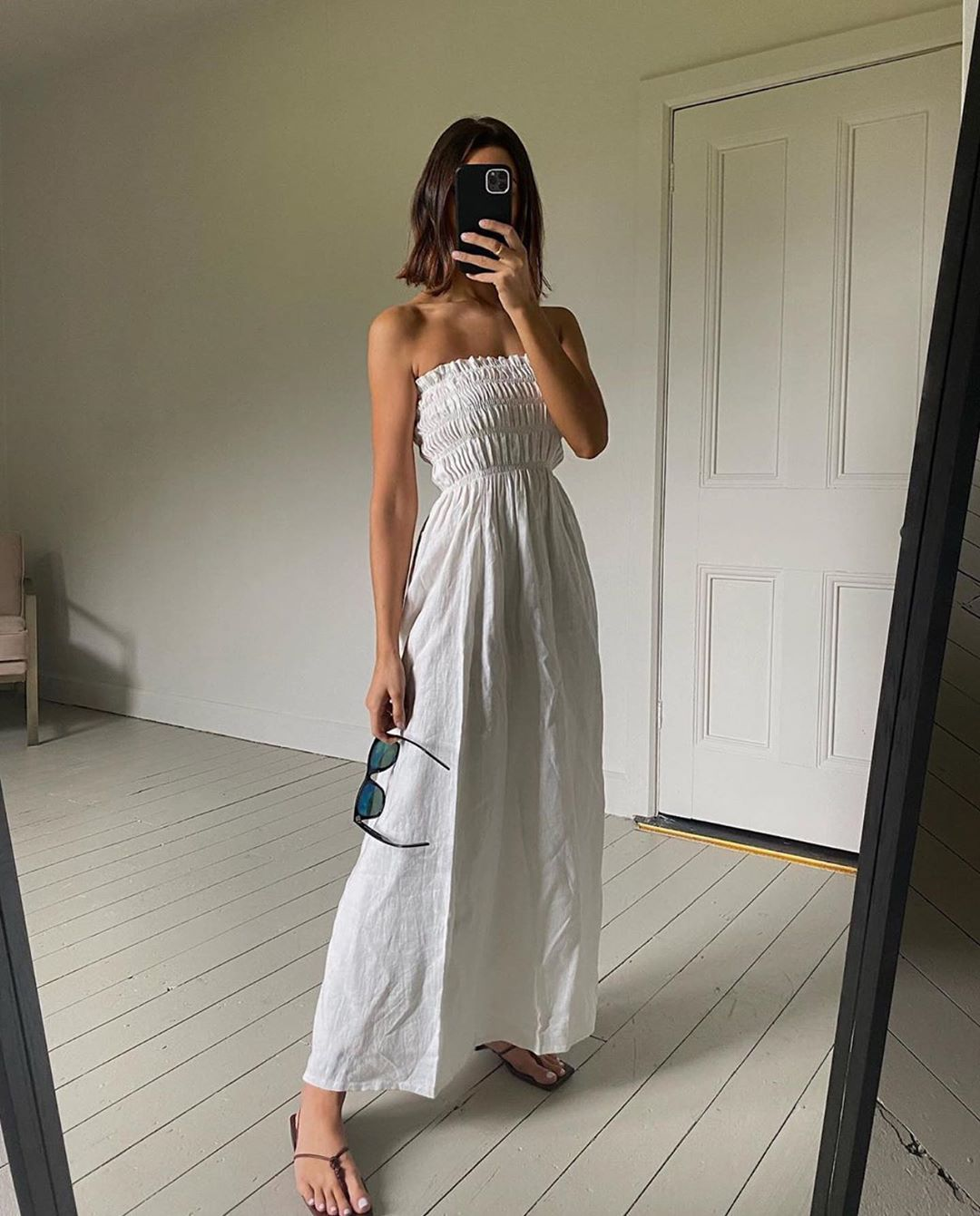Sir The Label On Instagram The Alena Strapless Maxi Dress On Sir Muse Smythsisters Restocking Onlin Strapless Maxi Dress Maxi Dress Fashion Inspo Outfits [ 1341 x 1080 Pixel ]
