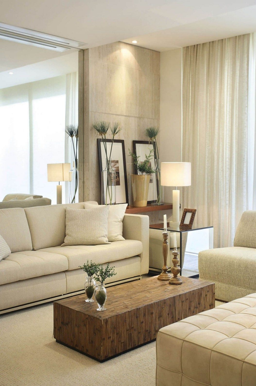 Best 23 Charming Beige Living Room Design Ideas To Brighten Up 400 x 300