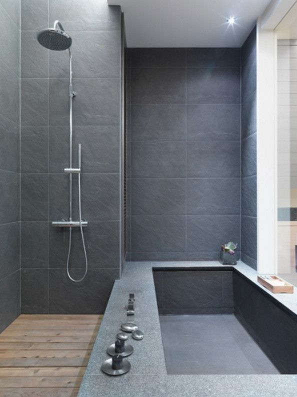 Bathroom ideas modern bathroom shower jacuzzi bathtub for Bathroom tiles modern