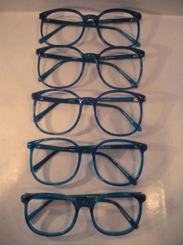 Vintage  80's P3 Shape Jenny Aqua Eyeglass, 3rd from the top, please.