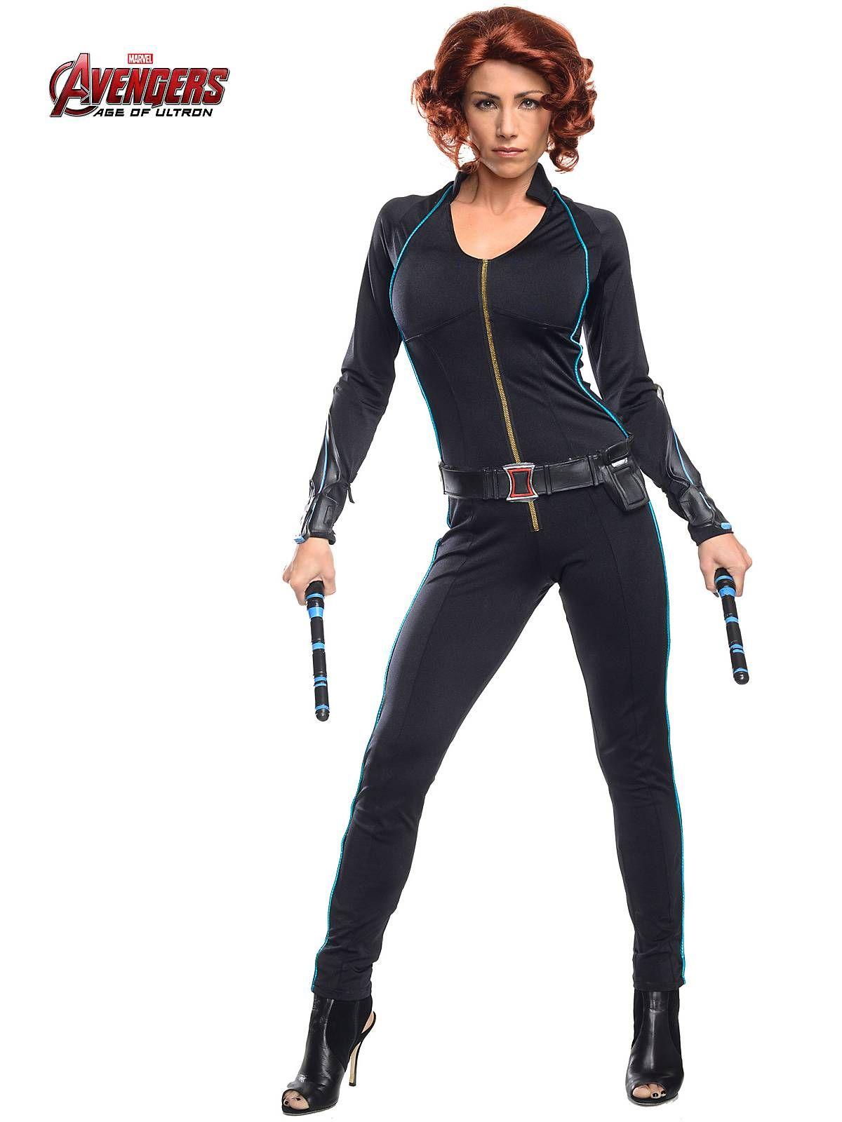 Sexy black widow costumes
