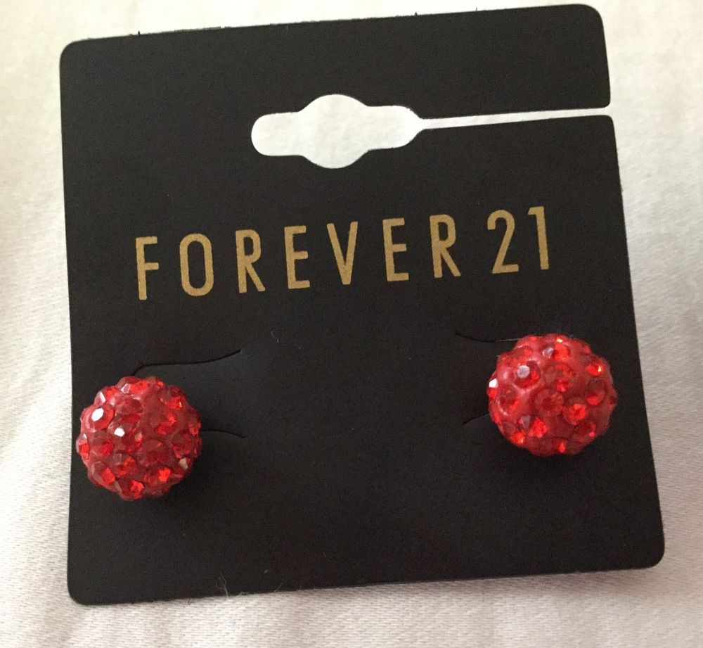 Forever 21 disco ball earrings sold out in store