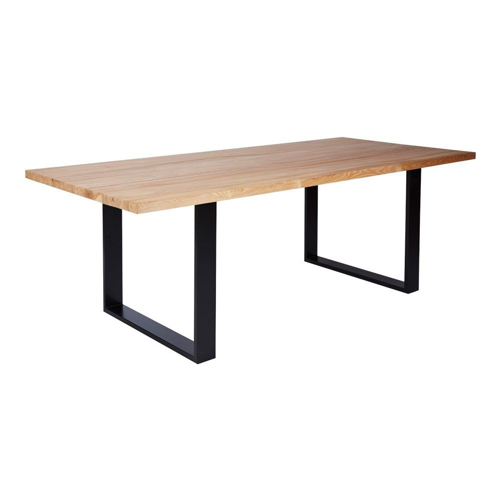 Pic2 Pyrmont Industrial Dining Table Black Black Wood