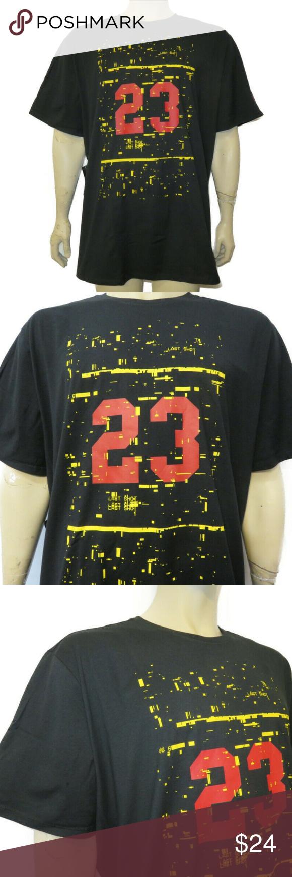 e35097c9a89 Air Jordan Last Shot Men's T-Shirt Size 3XL AO2632-010 Air Jordan Men's