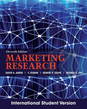 MARKETING RESEARCH de David Aaker. This book offers an ...