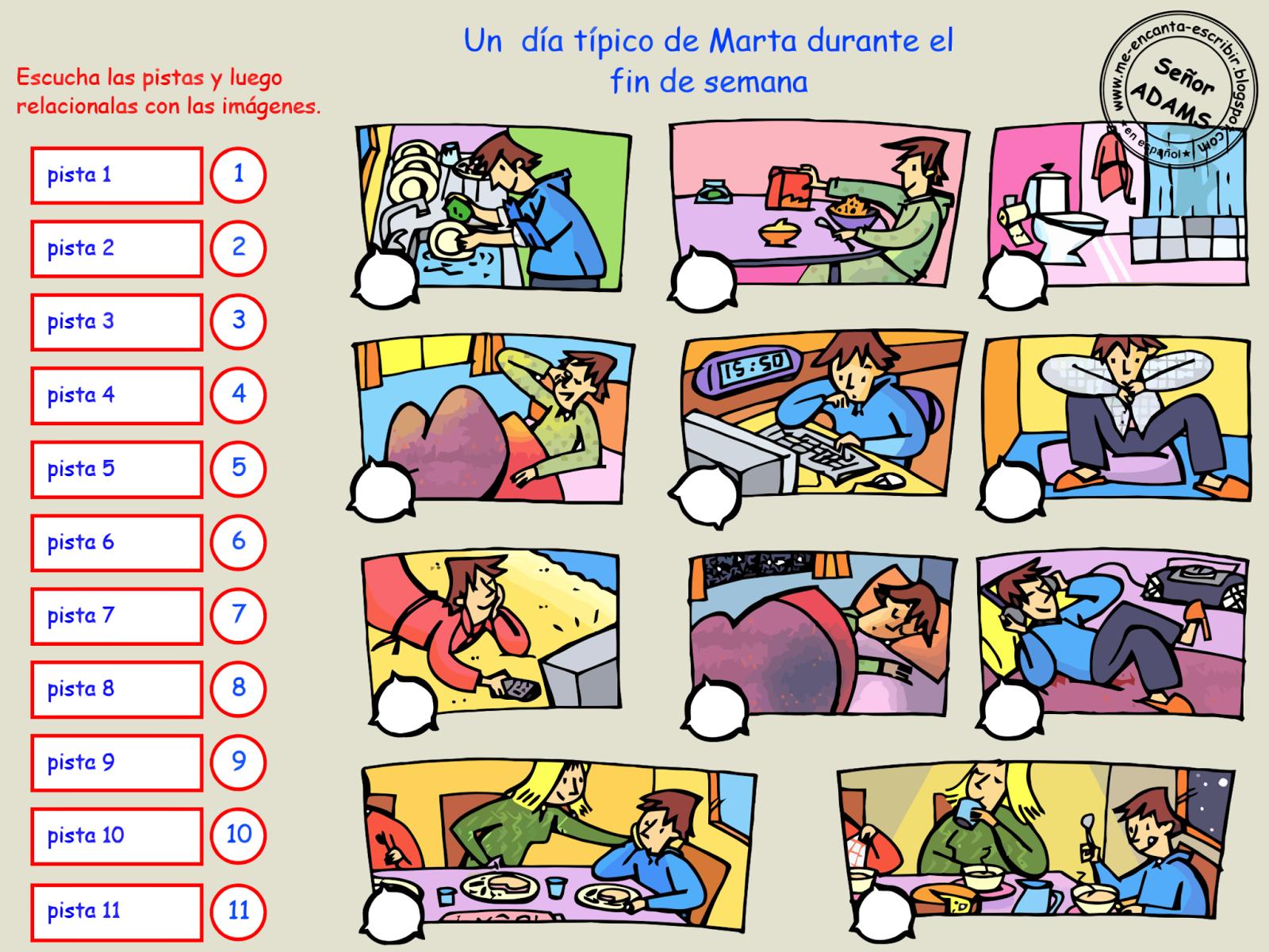 La Rutina Diaria De Mario