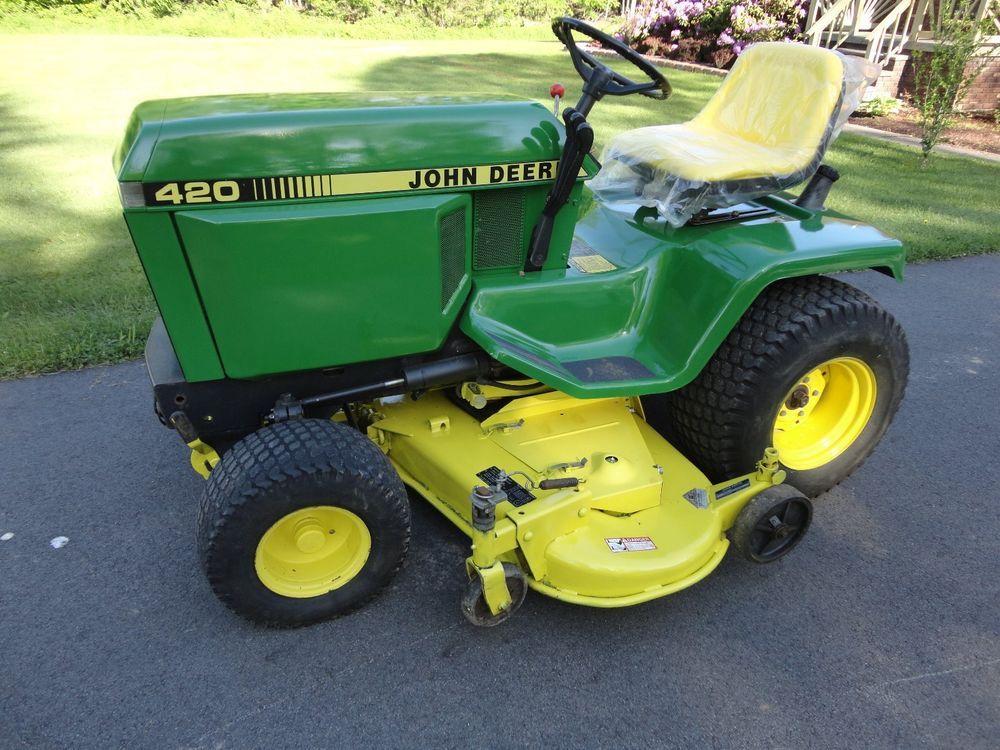 John Deere 420 Garden Tractor | 1000x1000