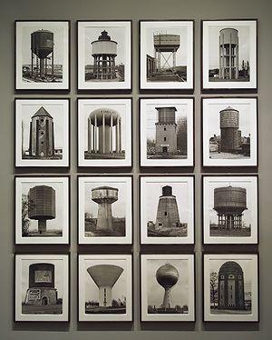 Hilla Becher and Bernd Becher: Watertowers (1980.1074.1-.16) | Heilbrunn Timeline of Art History | The Metropolitan Museum of Art