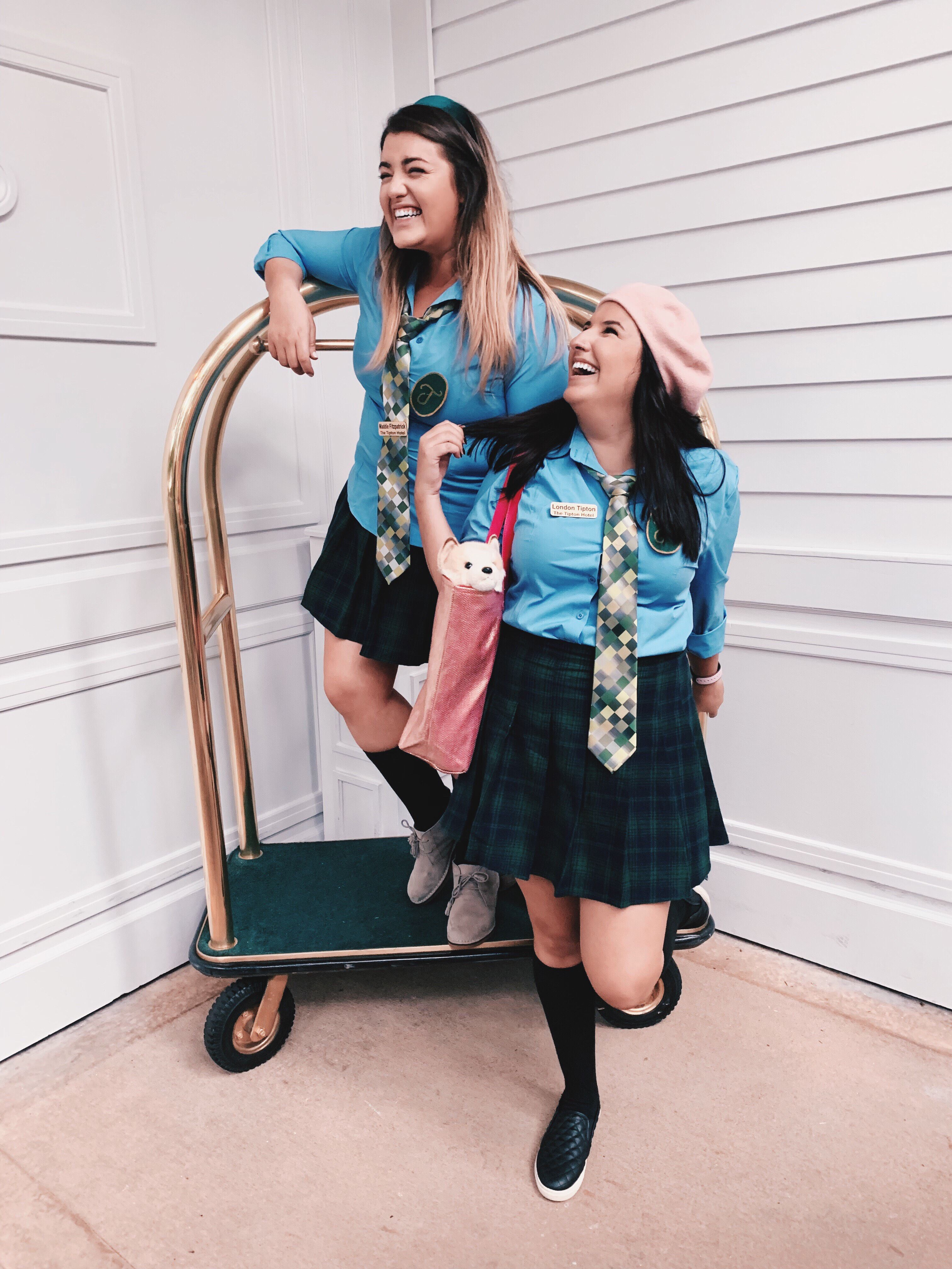 London \u0026 Maddie from The Suite Life of Zack \u0026 Cody in 2019