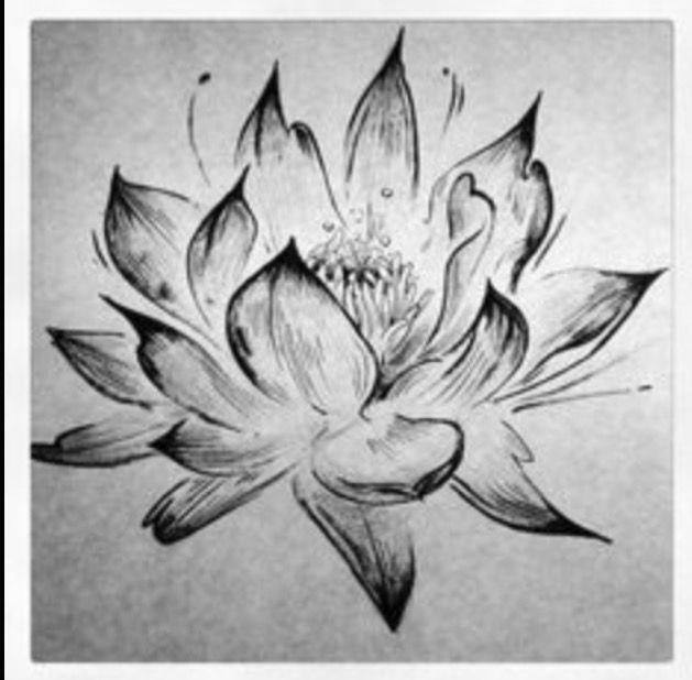 Pin By Ashlee Luebbert Graves On Art Lotus Tattoo White Lotus Tattoo Tattoos
