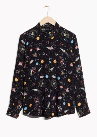 eac57146e0549 & Other Stories | Galaxy Print Shirt | clothing in 2019 | Fashion ...