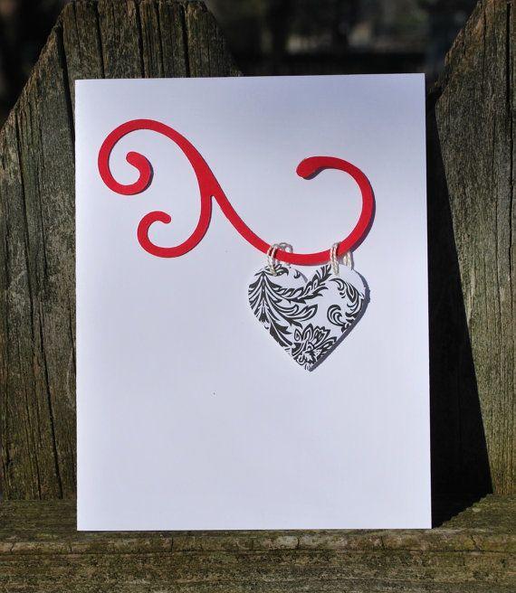 Handmade greeting card handmade card heart love note love letter handmade greeting card handmade card heart love note love letter valentine m4hsunfo