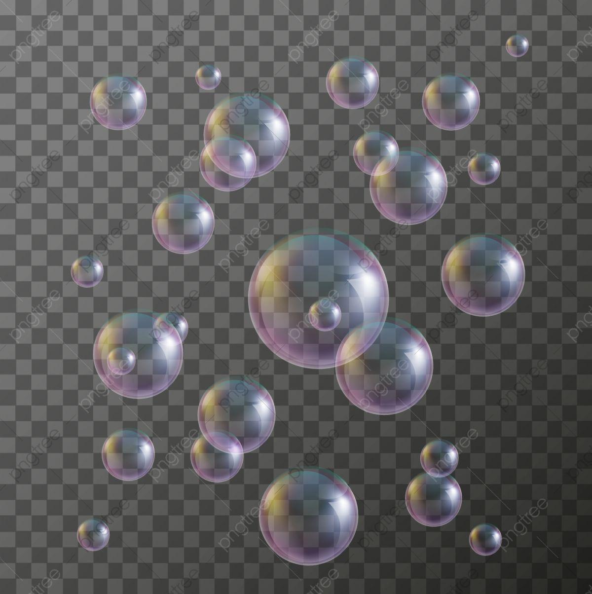 Water Soap Bubbles Realistic Vector Element Bubbles Clipart Bubbles Soap Png And Vector With Transparent Background For Free Download Soap Bubbles Bubbles Bubbles Wallpaper