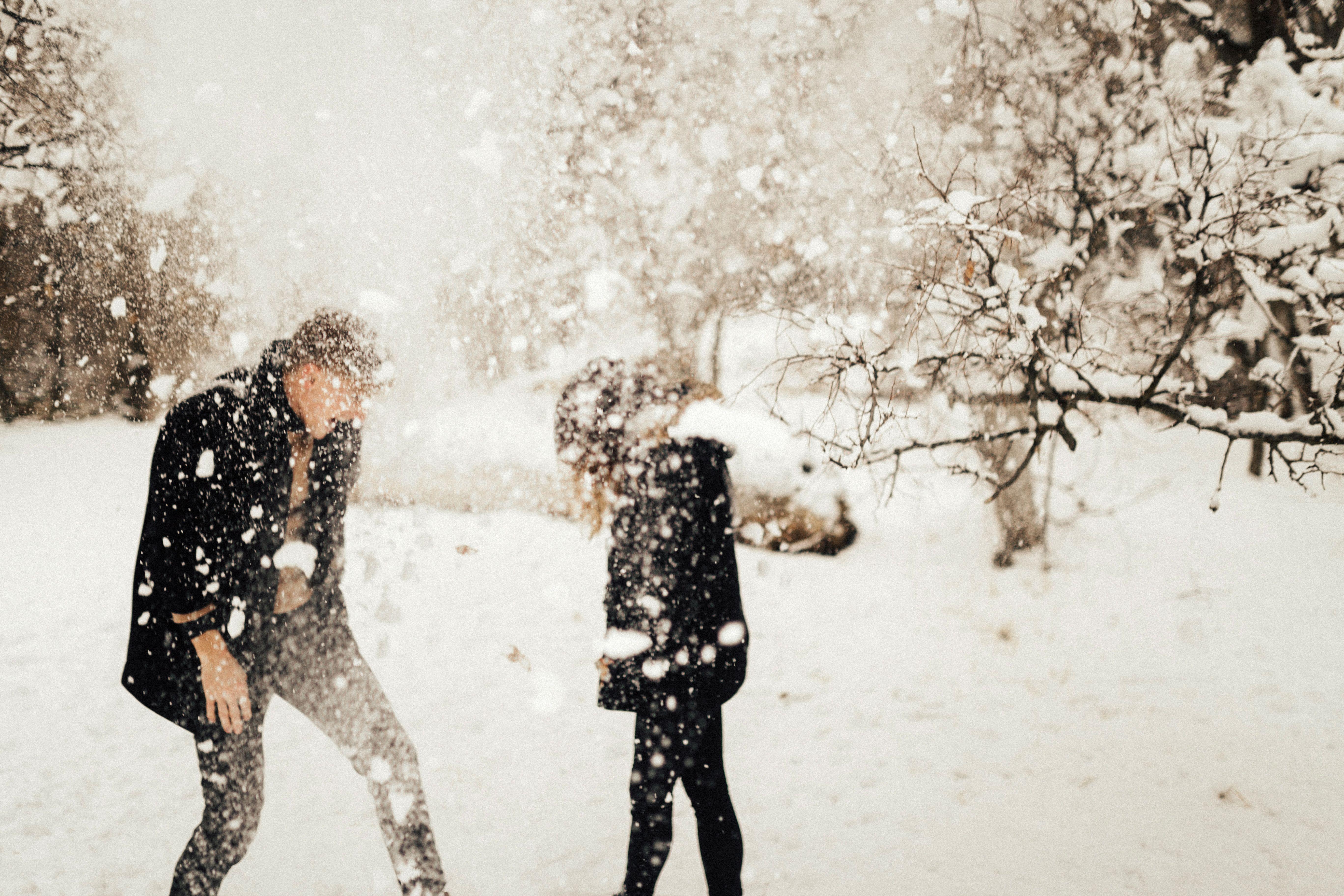 Картинки с парами снег