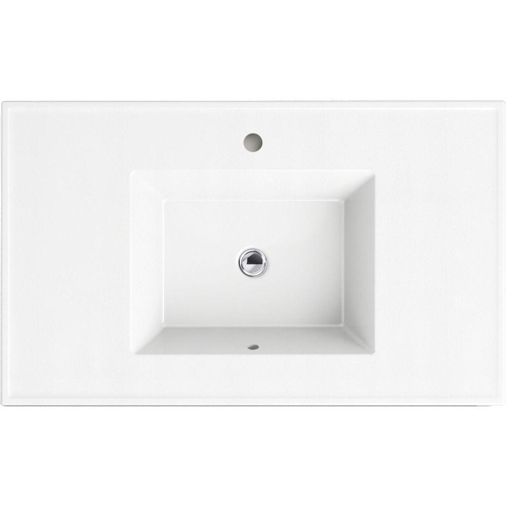 Kohler K 2781 1 G81 Ceramic Impressions 37 Single Basin