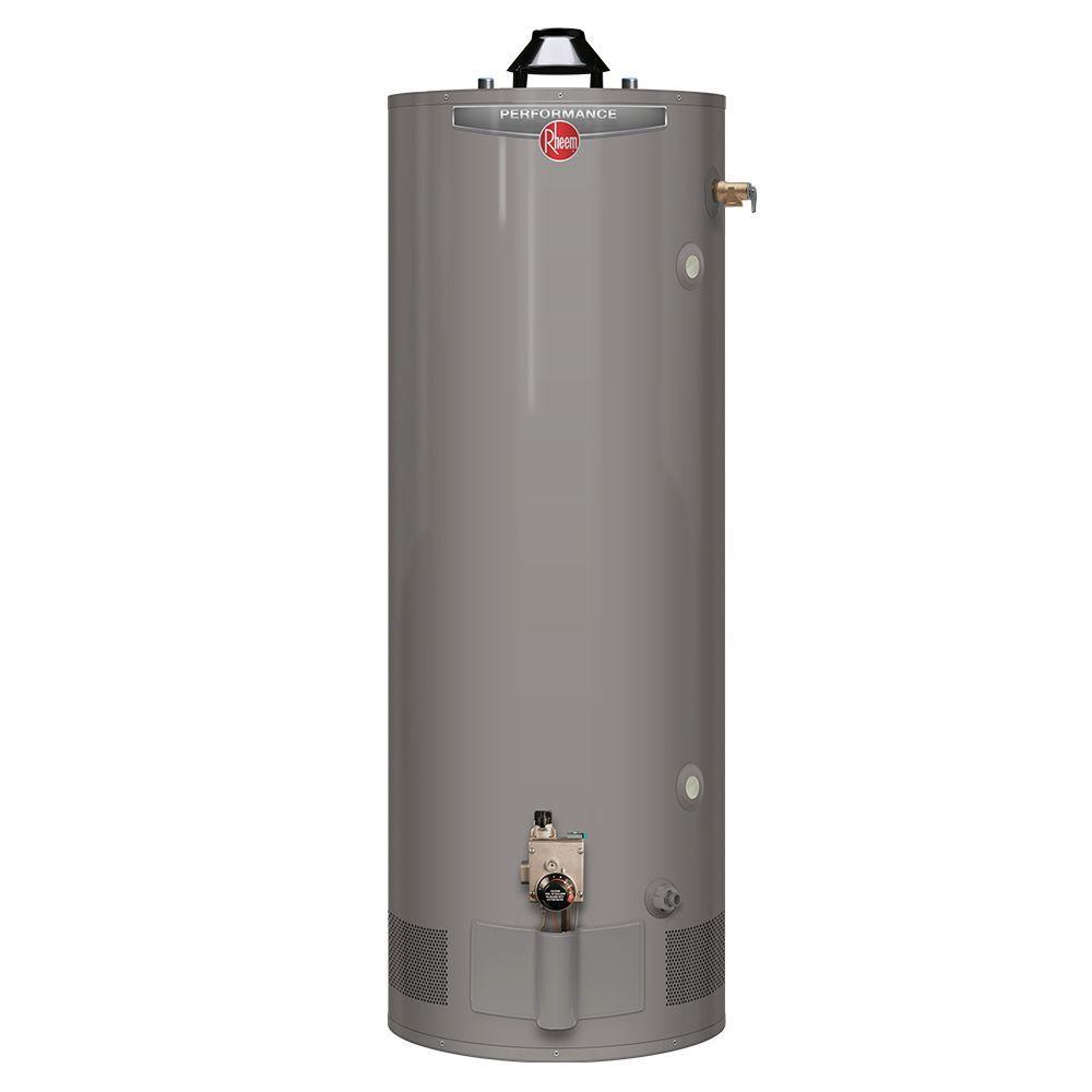 Rheem Performance 75 Gal Tall 6 Year 76 000 Btu Natural Gas Water Heater Xg75t06st76u0 The H Gas Water Heater Tankless Water Heater Natural Gas Water Heater
