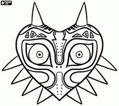 Legend Of Zelda Coloring Pages Google Search Coloring Parties