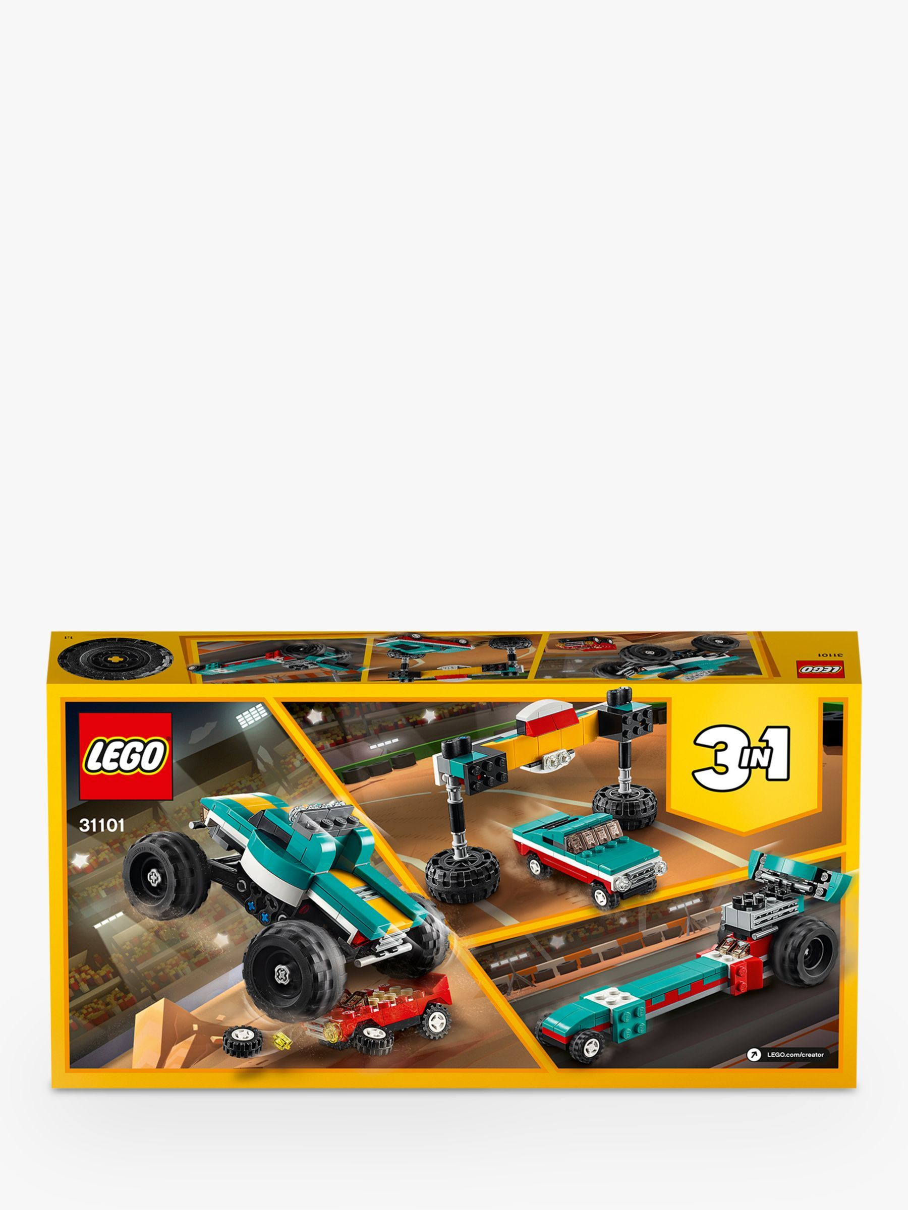 LEGO Creator 31101 3 in 1 Monster Truck Muscle Car
