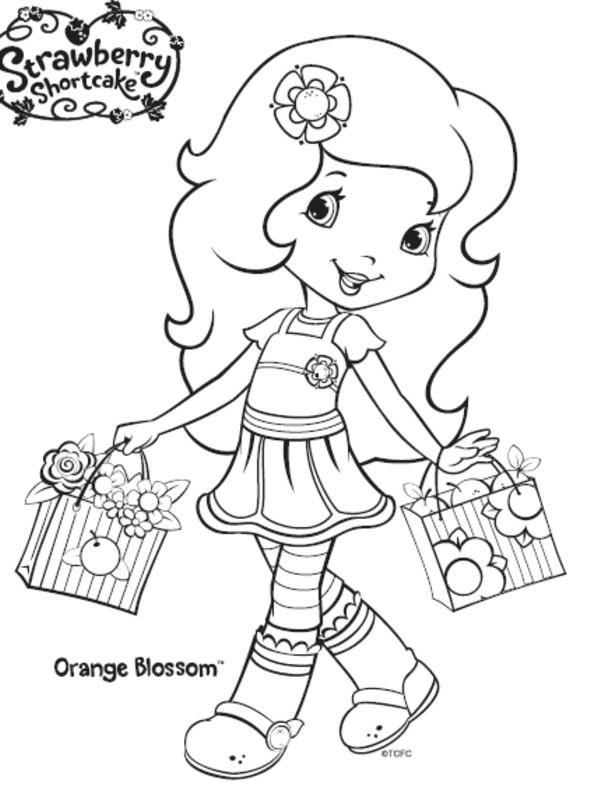 lindas manualidades: Fresita y sus amigas | strawberry shortcake ...