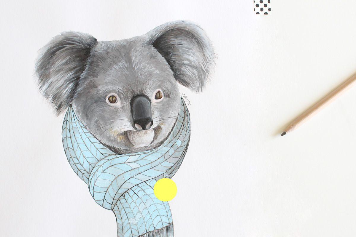 Illustration Miss-etc | Koala | Pinterest | Verde