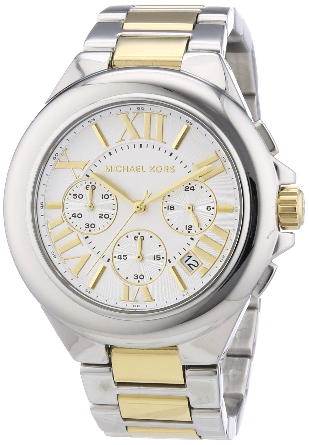 8171553ced60 Michael Kors MK5653 Ladies Two Tone Chronograph Watch