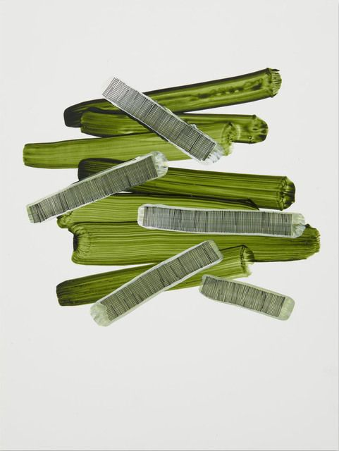 Alyse Rosner, Untitled (green 4) (2013)