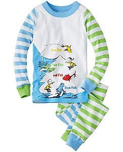 f08294fdf218 Dr. Seuss Long John Pajamas In Organic Cotton by Hanna Andersson ...