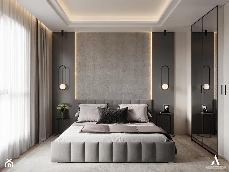 Sypialnia - zdjęcie od Aleksandra Wachowicz Architektura Wnętrz