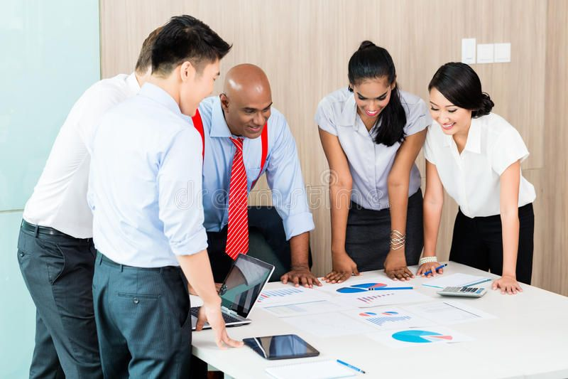 Photo of Asian Business Startup Team In Meeting Stock Photo – Image of forecast, chinese: 50476556