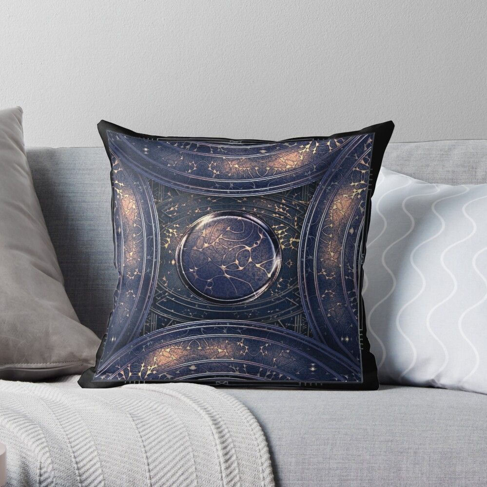 abstract #outerspace galaxy design - vintage and modern Out of the Blue beautiful cosmic #cushion and cover - beautiful interior and accessory gifts, elegant apparel designs. Glam up our home - Glitz up your life!