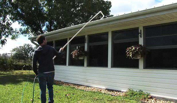 How To Make Gutter Cleaning Easier Howcast Com Home
