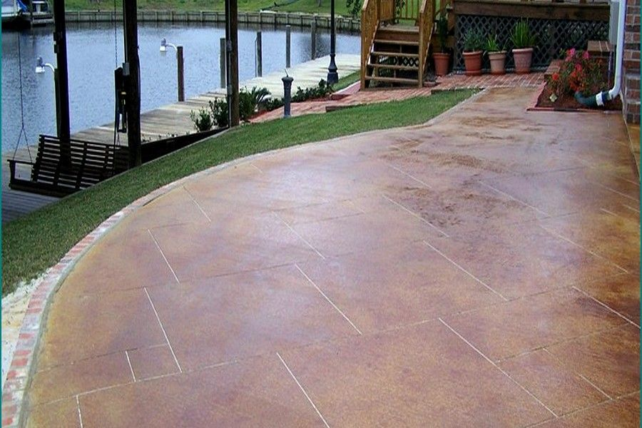 Gorgeous Concrete Patio Floor Paint Ideas Painting A Concrete