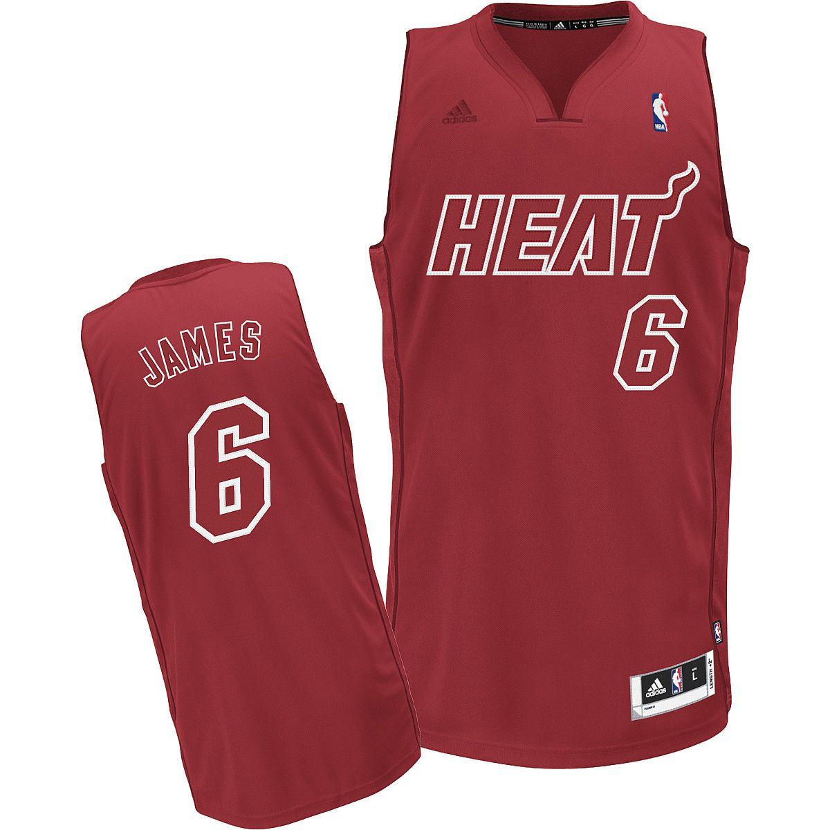 promo code 923e0 d5755 heat christmas jersey
