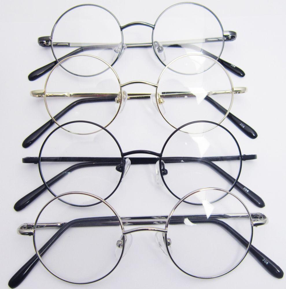0cb2edb7e 42mm Round Harry Potter s Style Eyeglass Reading Glasses Reader +1 +1.5  +1.75 +4