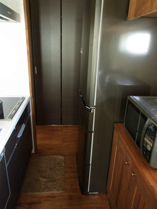 キッチン 狭い 冷蔵庫 の画像検索結果 キッチン 冷蔵庫 キャビネット