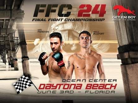 Final Fight Championship brings its MMA fighters to Daytona in its 1st U.S. event | News-JournalOnline.com